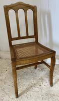 Set of 6 French Dining Chairs c.1900 (2 of 7)