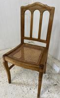 Set of 6 French Dining Chairs c.1900 (5 of 7)