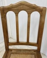 Set of 6 French Dining Chairs c.1900 (3 of 7)