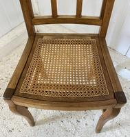 Set of 6 French Dining Chairs c.1900 (7 of 7)