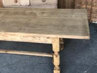 French Oak Farmhouse Dining Table c.1860 (4 of 13)