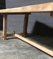 Large Olavi Hanninen Elm Dining Table (23 of 27)