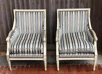 Pair of French Bergere Armchairs (7 of 9)