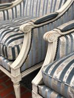 Pair of French Bergere Armchairs (4 of 9)