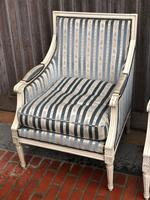 Pair of French Bergere Armchairs (8 of 9)