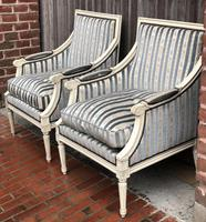 Pair of French Bergere Armchairs (9 of 9)