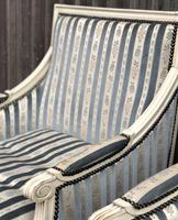 Pair of French Bergere Armchairs (5 of 9)