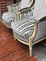 Pair of French Bergere Armchairs (7 of 11)