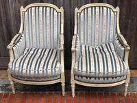 Pair of French Bergere Armchairs (4 of 11)