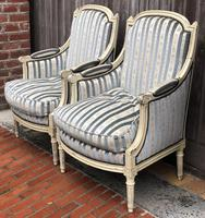 Pair of French Bergere Armchairs (6 of 11)