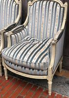 Pair of French Bergere Armchairs (5 of 11)
