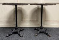 Pair of Cast Iron Tables c.1890 (5 of 10)