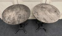 Pair of Cast Iron Tables c.1890 (6 of 10)