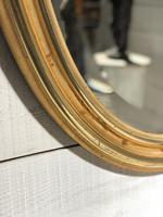 French Gilt Wall Mirror c.1900 (3 of 9)