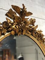 French Gilt Wall Mirror c.1900 (2 of 9)
