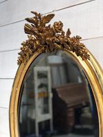 French Gilt Wall Mirror c.1900 (8 of 9)
