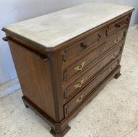 French Marble Top Chest of Drawers (3 of 6)