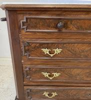 French Marble Top Chest of Drawers (5 of 6)