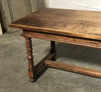 French Farmhouse Dining Table Lovely Patina (10 of 23)