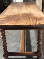 French Farmhouse Dining Table Lovely Patina (17 of 23)
