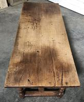 French Farmhouse Dining Table Lovely Patina (5 of 23)