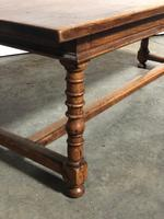 French Farmhouse Dining Table Lovely Patina (11 of 23)