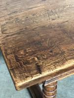 French Farmhouse Dining Table Lovely Patina (3 of 23)