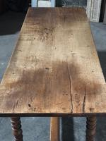 French Farmhouse Dining Table Lovely Patina (16 of 23)