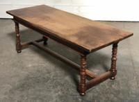 French Farmhouse Dining Table Lovely Patina (21 of 23)
