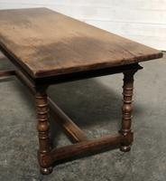 French Farmhouse Dining Table Lovely Patina (4 of 23)