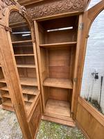 Exceptional Large French Oak Bookcase c.1850 (10 of 19)