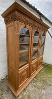Exceptional Large French Oak Bookcase c.1850 (14 of 19)