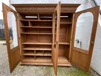 Exceptional Large French Oak Bookcase c.1850 (7 of 19)