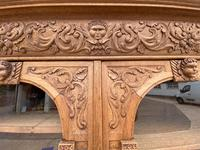 Exceptional Large French Oak Bookcase c.1850 (17 of 19)