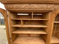 Exceptional Large French Oak Bookcase c.1850 (9 of 19)
