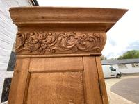 Exceptional Large French Oak Bookcase c.1850 (15 of 19)
