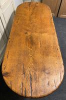 French Oak Farmhouse Dining Table Original Colour (4 of 16)