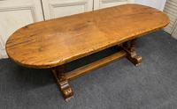 French Oak Farmhouse Dining Table Original Colour (3 of 16)
