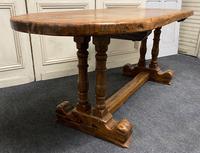 French Oak Farmhouse Dining Table Original Colour (13 of 16)