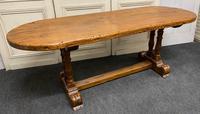 French Oak Farmhouse Dining Table Original Colour