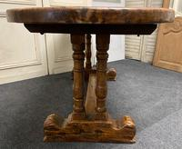French Oak Farmhouse Dining Table Original Colour (9 of 16)