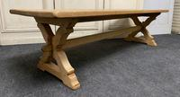 Large French Farmhouse Coffee Table c.1890 (3 of 11)