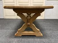 Large French Farmhouse Coffee Table c.1890 (6 of 11)
