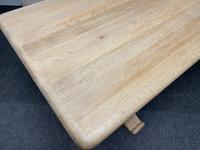 French Bleached Oak Farmhouse Dining Table (14 of 17)