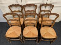 Set of 6 French Ladder Back Chairs (4 of 7)