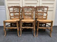 Set of 6 French Ladder Back Chairs (3 of 7)