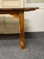 19th Century Pine Kitchen Table (6 of 10)