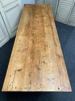 19th Century Pine Kitchen Table (7 of 10)
