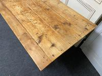19th Century Pine Kitchen Table (10 of 10)
