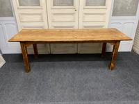 19th Century Pine Kitchen Table (4 of 10)